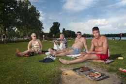 Barbeque in Rotterdam