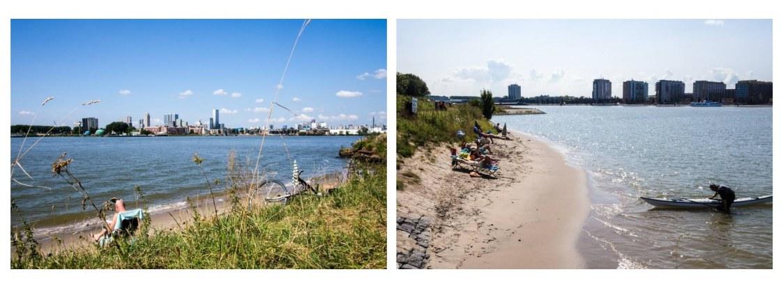 Strand bij De Esch