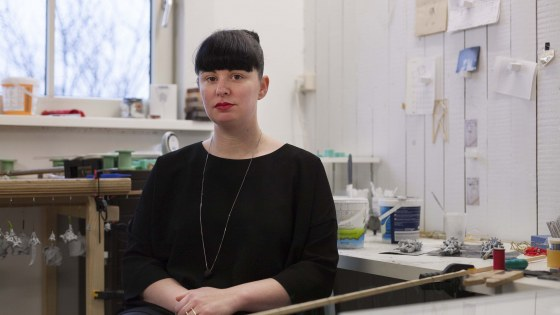 Kirsten Spuijbroek, portret, R'damse Nieuwe