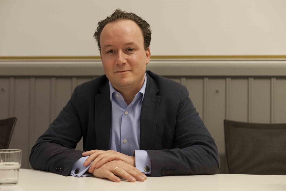D66, lijsttrekker, politiek, portret, Samuel Schampers