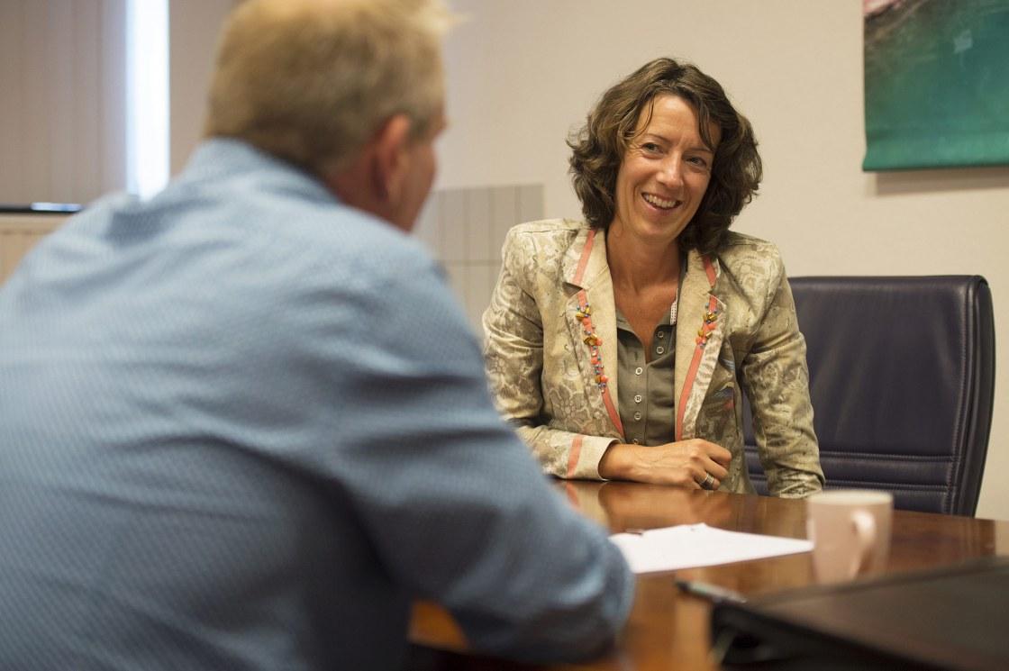 Ingeborg Hoogveld (Raadslid Leefbaar Rotterdam) op werkbezoek bi