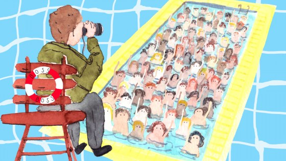Pool of people