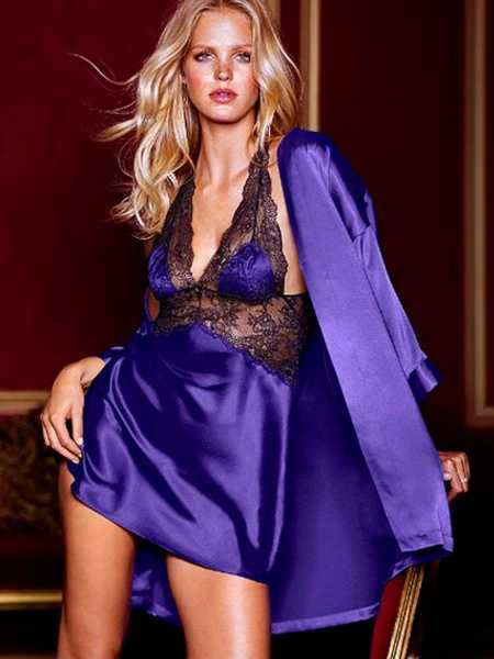 Purple Seduce Babydoll