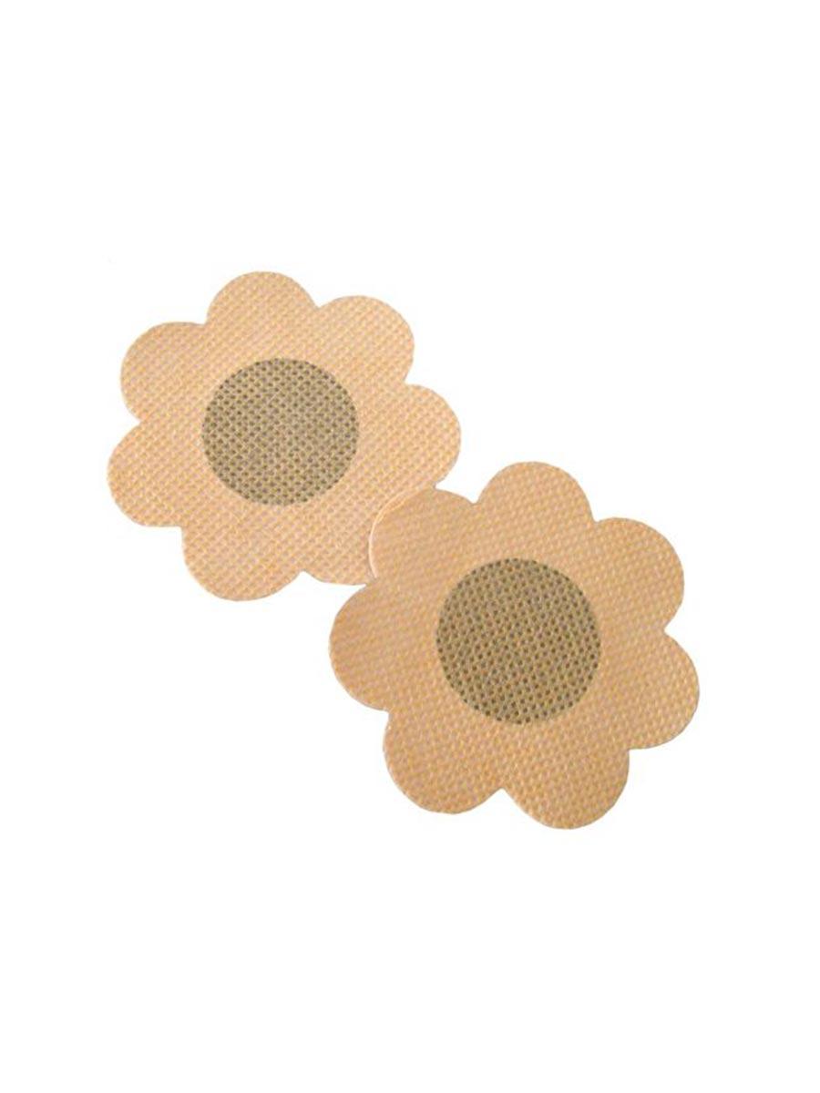 Nipple Stickers - Rutete Blomster