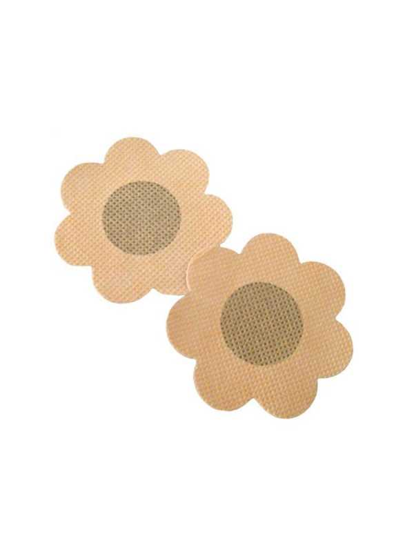 Nipple Stickers - Rutete Blomster