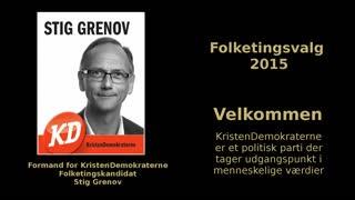 01 - Velkommen - Folketingskandidat Stig Grenov