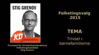 03 - Trivsel i b�rnefamilierne - Folketingskandidat Stig Grenov