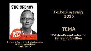04 - KristenDemokraterne for kernefamilien - Folketingskandidat Stig Grenov