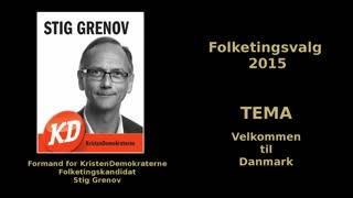 10 - Velkommen til Danmark - Folketingskandidat Stig Grenov