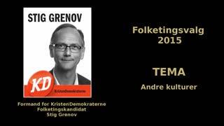 11 - Andre kulturer - Folketingskandidat Stig Grenov