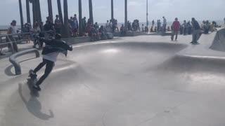 LA skatepark Venice Beach
