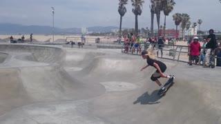 LA skatepark Venice Beach 2