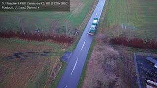 Drone optagelse Danmark