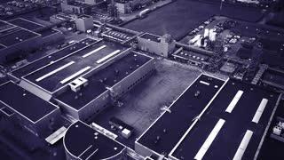 Drone 5 Plant sort hvid Safetyfilm Site Kalundborg