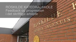 Roskilde_Katedralskole. Feedback og progression