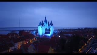 Drone Aften Video Kalundborg Novo Nordisk