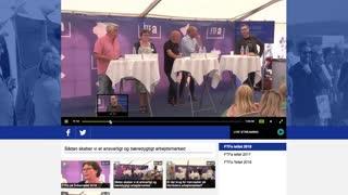FTF-a Screencapture om deres Live side