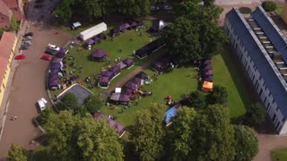 Dronevideo Sorø Folkemøde 02 Fligh Away HD