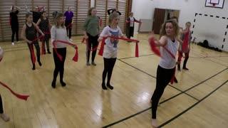 Showdance i Kolind