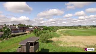 Kolind, fugletårn og kanal
