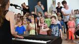 Små Synger Sammen 2016 - fotos fra Kolind+