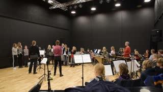 Kulturskolen Syddjurs øver op til Børneåbningen 20./1.