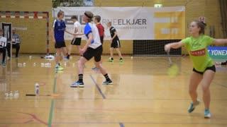 Reportage fra Badminton DM for ungdomsspillere