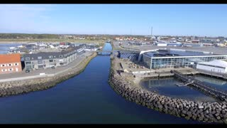Grenåen ved kattegatcenter og Lystbådehavn
