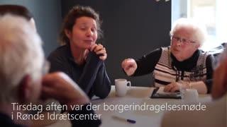 Møde om borgerinddragelse i Rønde Hallen