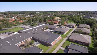 Droneoptagelser, Ryomgård Ringparken