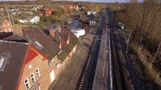 Letbanebyggeri, Hornslet Station