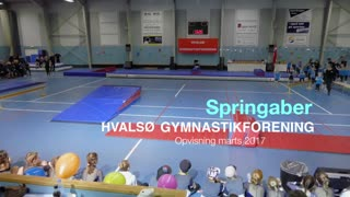 Springaber Gymnastikvideo Hvalsø Gymnastikforening 2017
