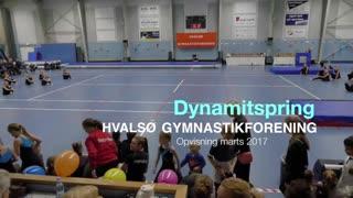 Dynamitspring Gymnastikvideo Hvalsø Gymnastikforening 2017
