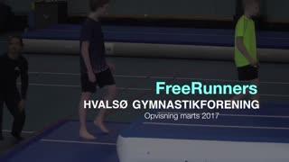 FreeRunners Gymnastikvideo Hvalsø Gymnastikforening 2017