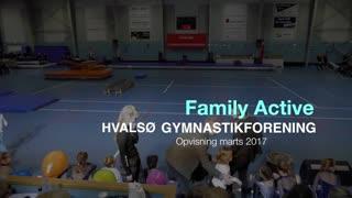 Family Active Gymnastikvideo Hvalsø Gymnastikforening 2017