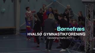 Børnefræs Gymnastikvideo Hvalsø Gymnastikforening 2017