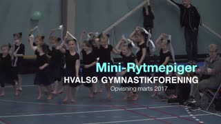 MiniRytmepiger Gymnastikvideo Hvalsø Gymnastikforening 2017