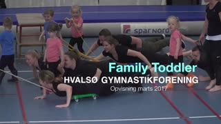 Family Toddler 2 Gymnastikvideo Hvalsø Gymnastikforening 2017