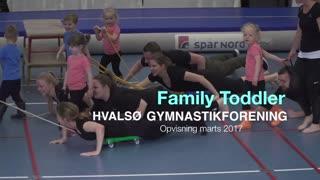 Family Toddler 2 Gymnastikvideo Hvalsø Gymnastikforening 2017