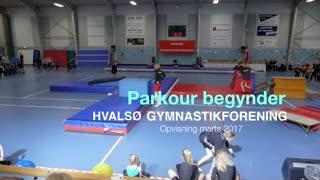 Pakour Begynder Gymnastikvideo Hvalsø Gymnastikforening 2017