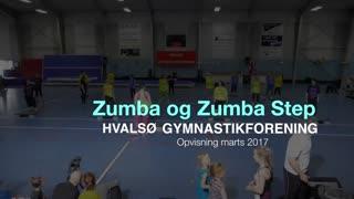 Zumba og Zumbastep Gymnastikvideo Hvalsø Gymnastikforening 2017