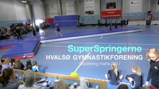 Superspringerne Gymnastikvideo Hvalsø Gymnastikforening 2017