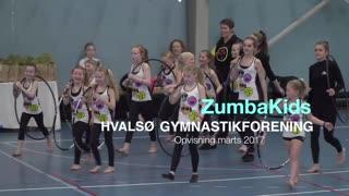 Zumbakids Gymnastikvideo Hvalsø Gymnastikforening 2017