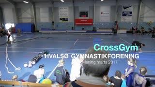 GrossGym Gymnastikvideo Hvalsø Gymnastikforening 2017