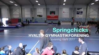 Springchicks Gymnastikvideo Hvalsø Gymnastikforening 2017