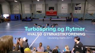 Turbospring og RytmerGymnastikvideo Hvalsø Gymnastikforening 2017