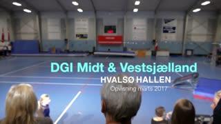 DGI Midt og Vestsjælland Gymnastikvideo Hvalsø Gymnastikforening 2017