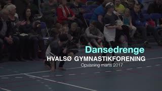 Dansedrenge Gymnastikvideo Hvalsø Gymnastikforening 2017