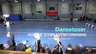 Dansetøser Gymnastikvideo Hvalsø Gymnastikforening 2017