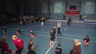 Hvalsø GF Gymnastikopvisning 2018 indmarch